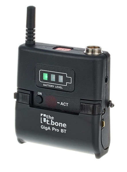 the t.bone GigA Pro Bodypack Transmitter