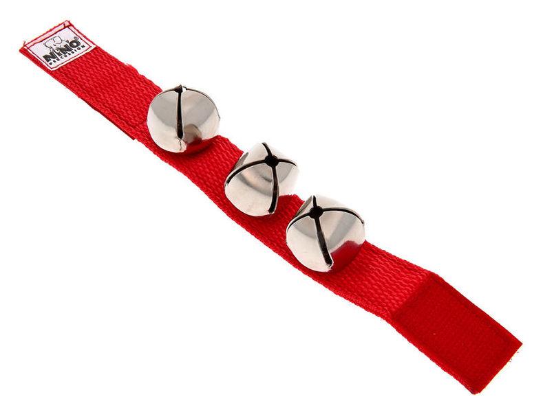 Nino Nino961R Wrist Bells Red
