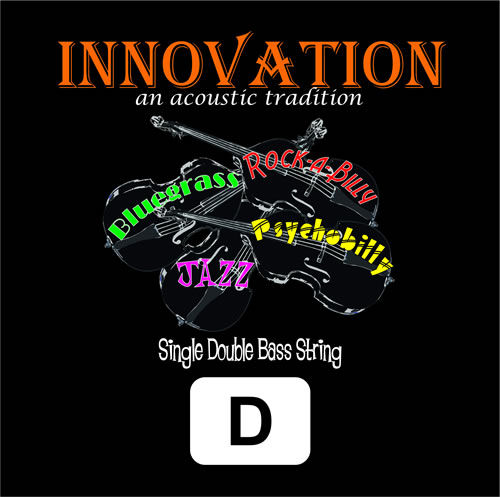 Innovation 9014DSLP Silver Slap D-String