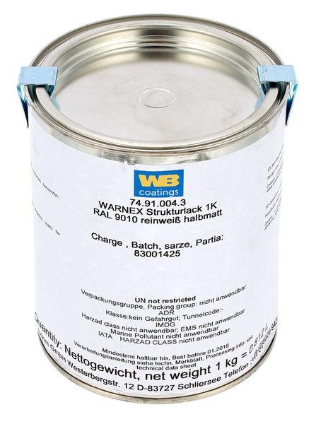 Warnex Structure Paint White 1Kg