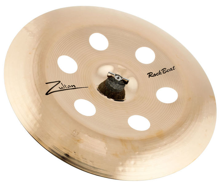 "Zultan 16"" Rock Beat China Holey"