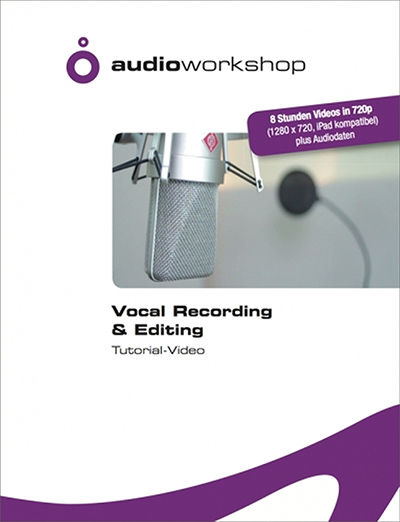 Audio Workshop Vocal Recording Tutorial DVD
