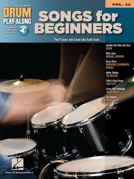 Hal Leonard Drum Play-Along Songs f Begin.