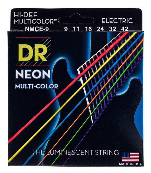 Electric 009-042 DR Strings K3 Neon Hi-Def Multi-Color