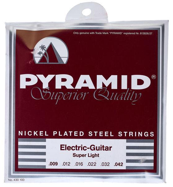 Pyramid Nickel Plated Steel SuperLight