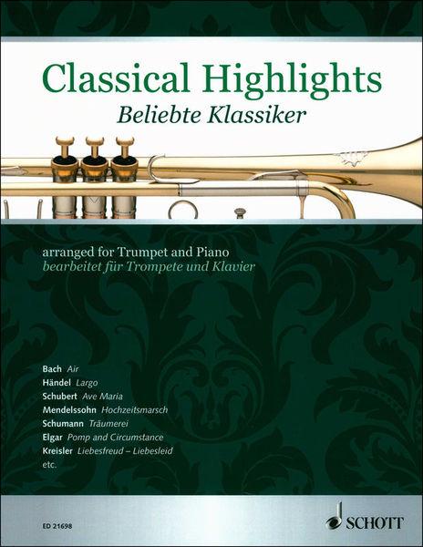 Schott Classical Highlights Trumpet