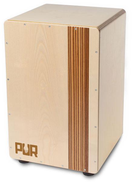 PUR PC2279 Compact Cajon Zebrano