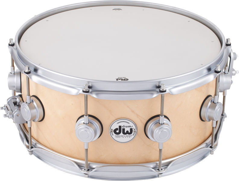 "DW 14""x06"" Satin Snare Natural SC"