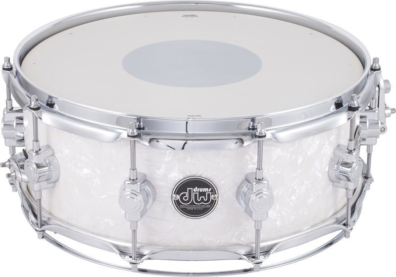 "DW 14""x5,5"" SN Performance White"