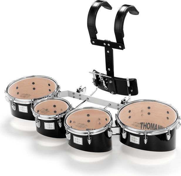 Thomann QT04 BL Marching Quad Tom Set