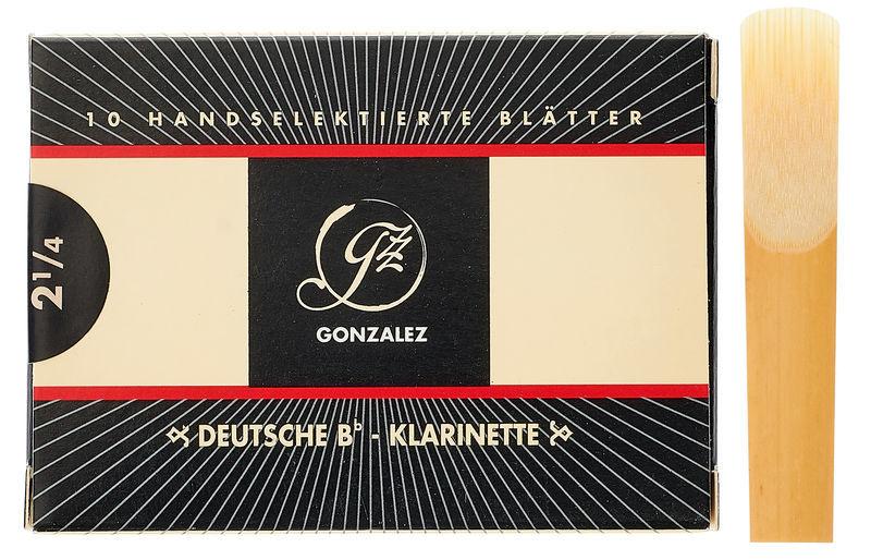 Gonzalez Clarinet Reed German 2.25