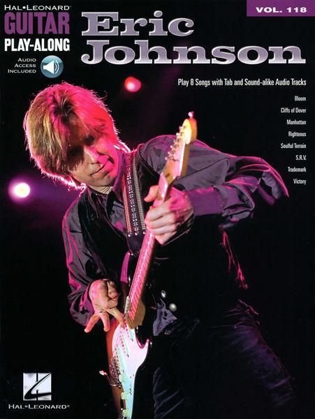 Hal Leonard Guitar Play-Along Eric Johnson