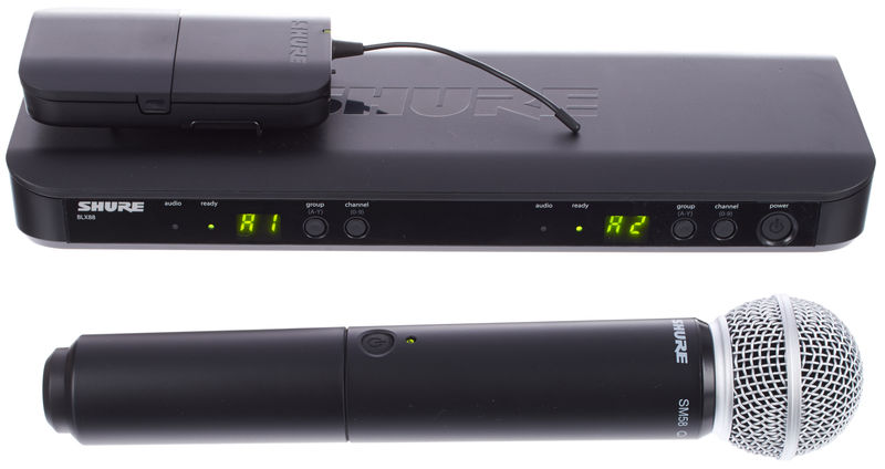 Shure BLX1288/SM58 Combo T11
