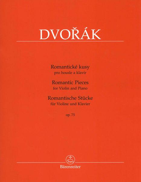 Bärenreiter Dvorak Romantische Stücke