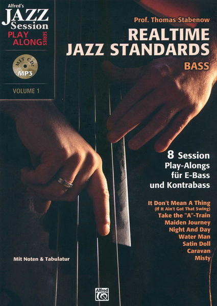 Alfred Music Publishing Realtime Jazz Standards Bass