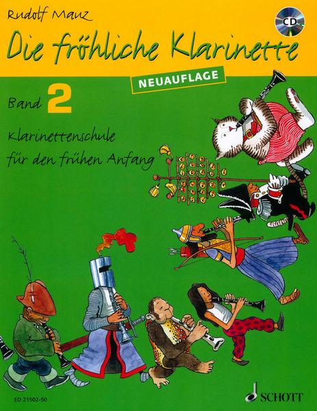 Schott Die Fröhliche Klarinette 2 +CD