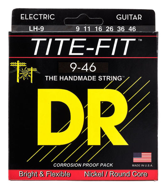 DR Strings Tite Fit LH-9 9-46