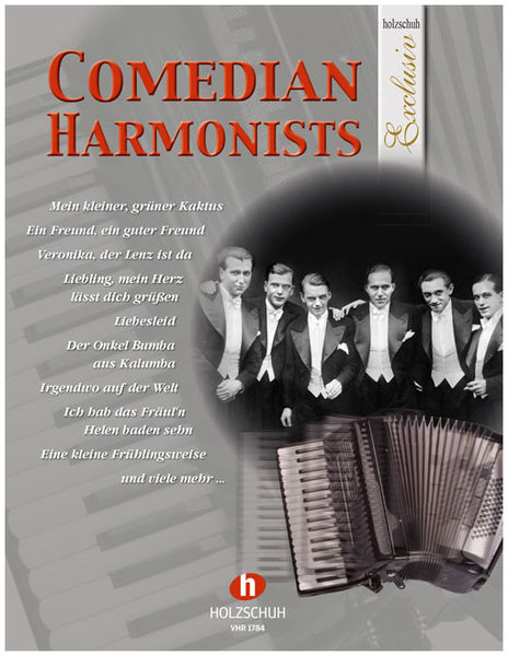 Holzschuh Verlag Comedian Harmonists