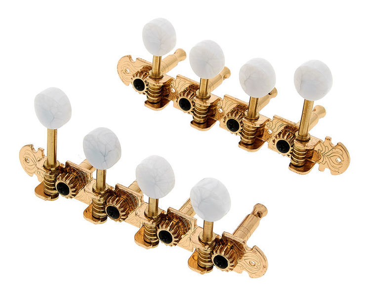Harley Benton Parts Mandolin Key Set Gold