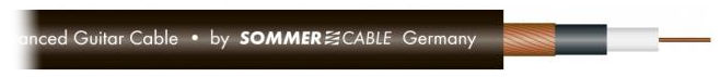 Sommer Cable The Spirit Black Zilk