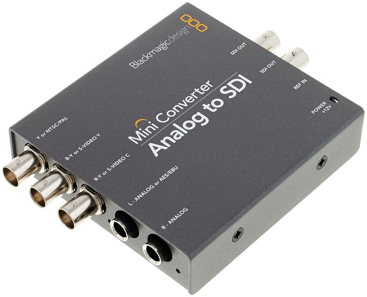Blackmagic Design Mini Converter Analog Sdi 2 Thomann Uk