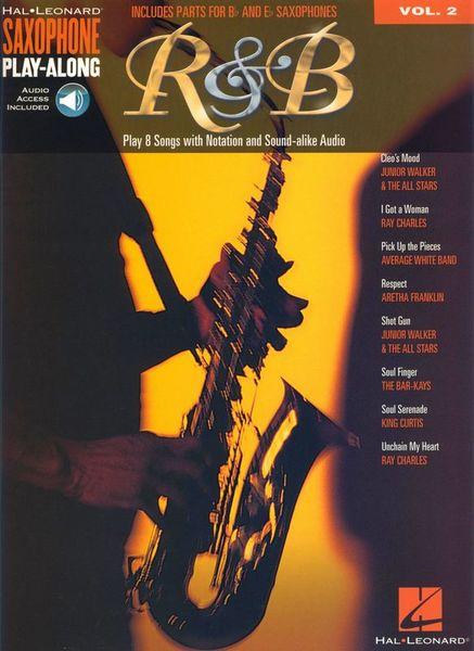 Hal Leonard Sax Play Along R&B