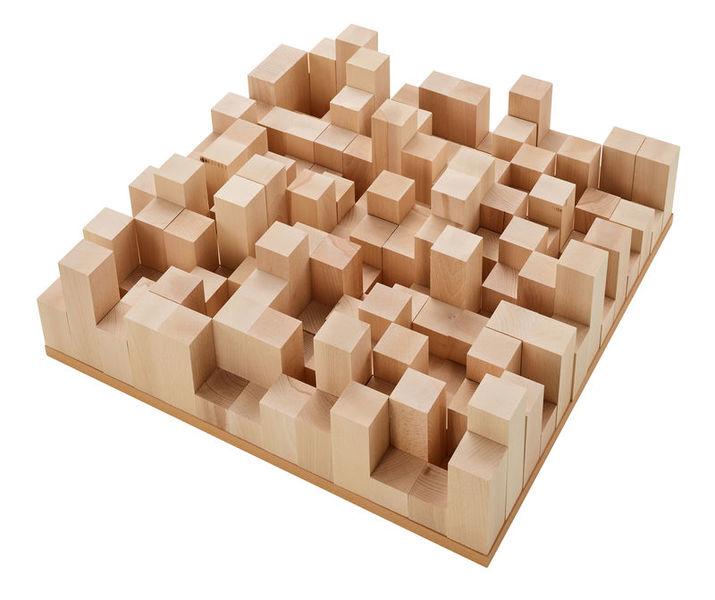 t.akustik Diffusor Manhattan wood