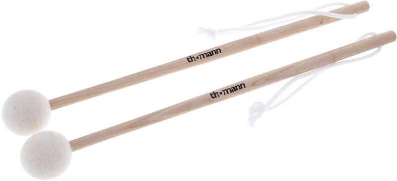 Thomann Field Drum Mallet 40mm white