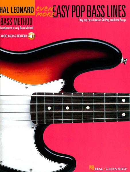 Hal Leonard Even More Easy Pop Bass Lines