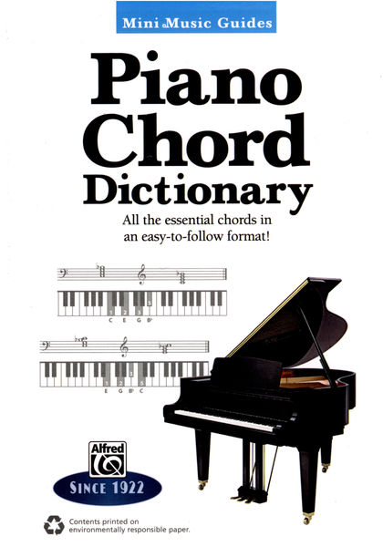 Alfred Music Publishing Piano Chord Dictionary