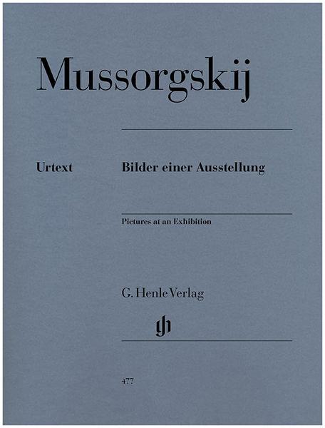 Henle Verlag Mussorgskij Bilder Ausstellung