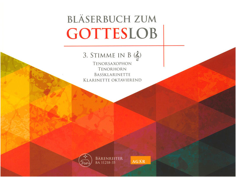 Bärenreiter Bläser Gotteslob 3 B Violin