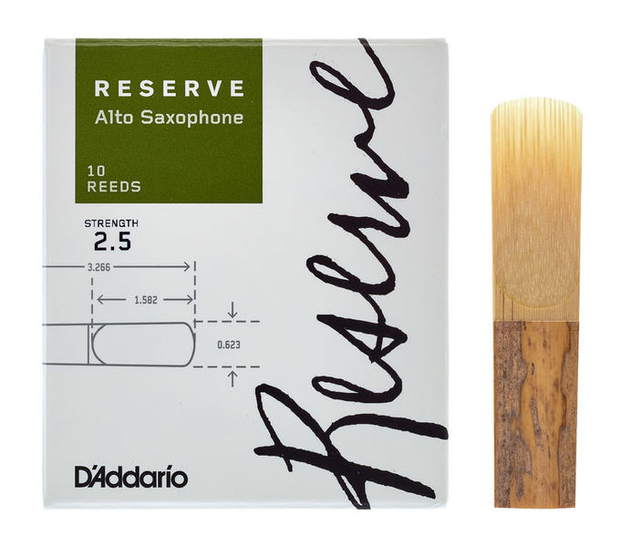 DAddario Woodwinds Reserve Alto Saxophone 2.5