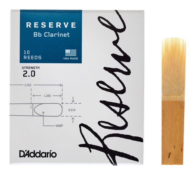 DAddario Woodwinds Reserve Clarinet 2.0