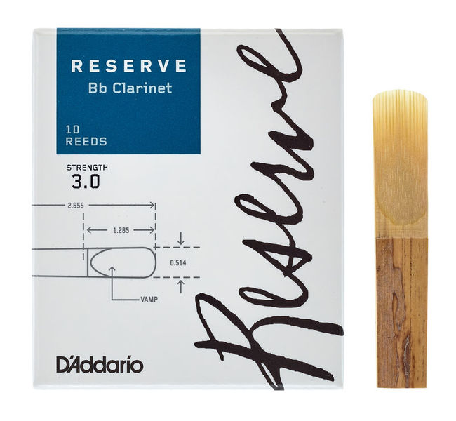 DAddario Woodwinds Reserve Clarinet 3.0