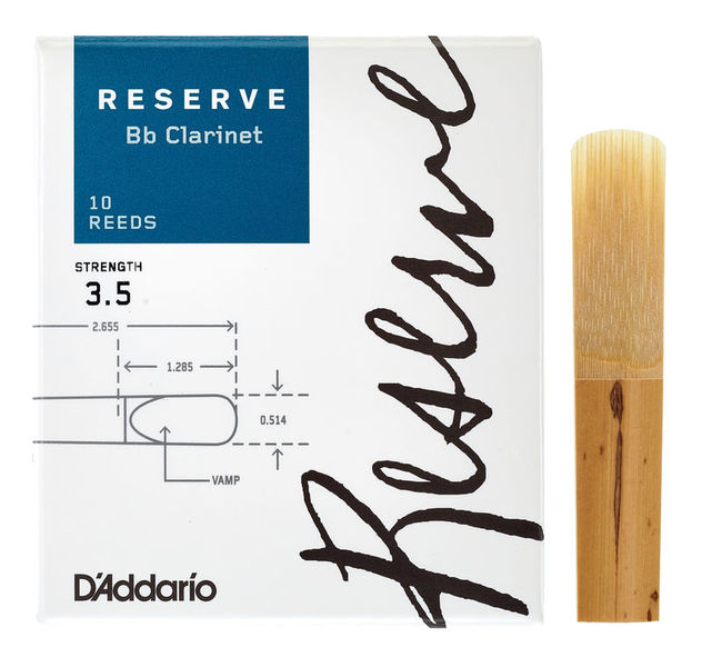 DAddario Woodwinds Reserve Clarinet 3.5