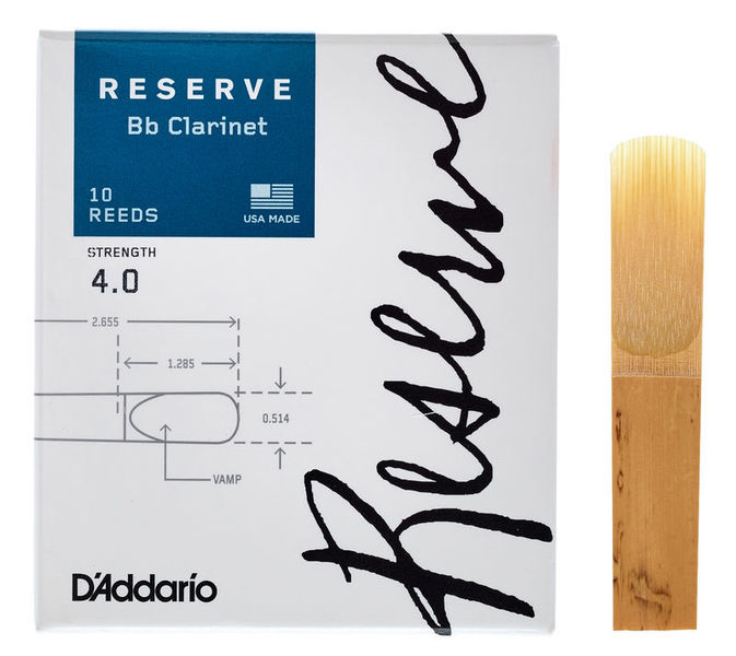 DAddario Woodwinds Reserve Clarinet 4.0