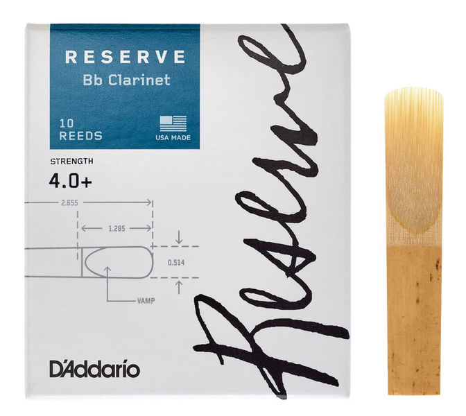 DAddario Woodwinds Reserve Clarinet 4.0+