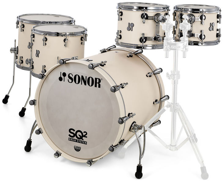 Sonor SQ2 Rock Set Beech Creme White