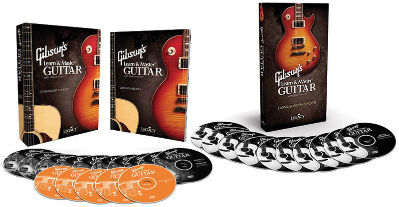 Hal Leonard Gibson Learn & Master Set