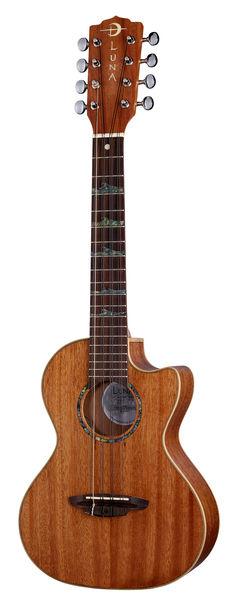 Luna Guitars Ukulele Tenor HighTide 8