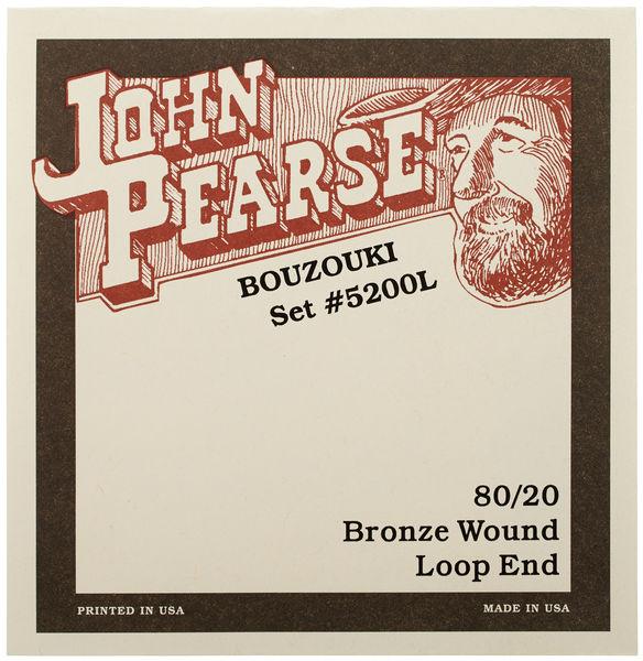 John Pearse 5200L Bouzouki Strings