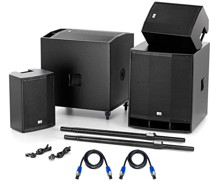 the box CL 110/118MKII Power Bundle