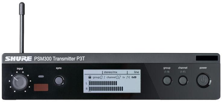 Shure P3T PSM 300 K3E