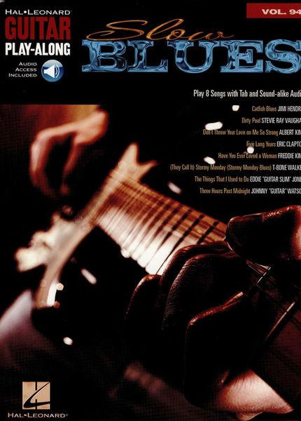 Hal Leonard Guitar Play-Along Slow Blues