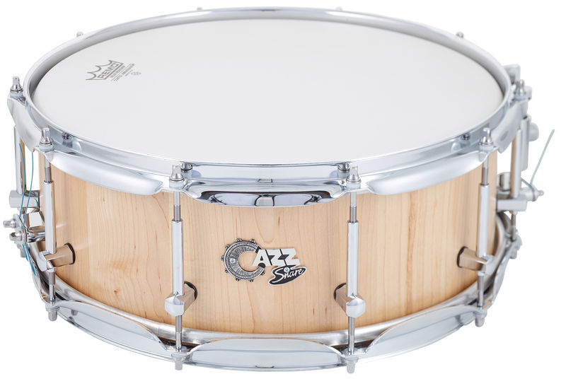 "CAZZ Snare 14""x5,5"" Maple Natural Satin"
