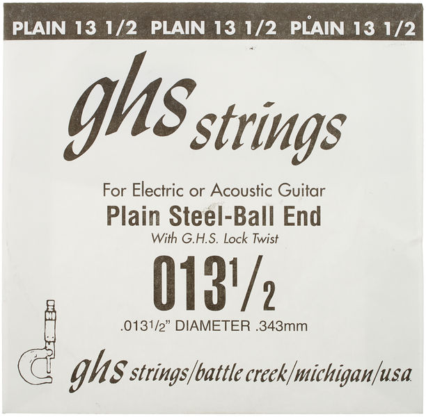 """GHS Boomers Single String 013""""1/2"""