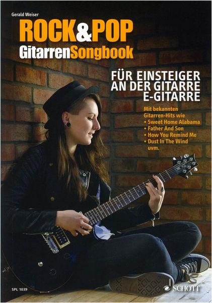Schott Rock & Pop Gitarren-Songbook