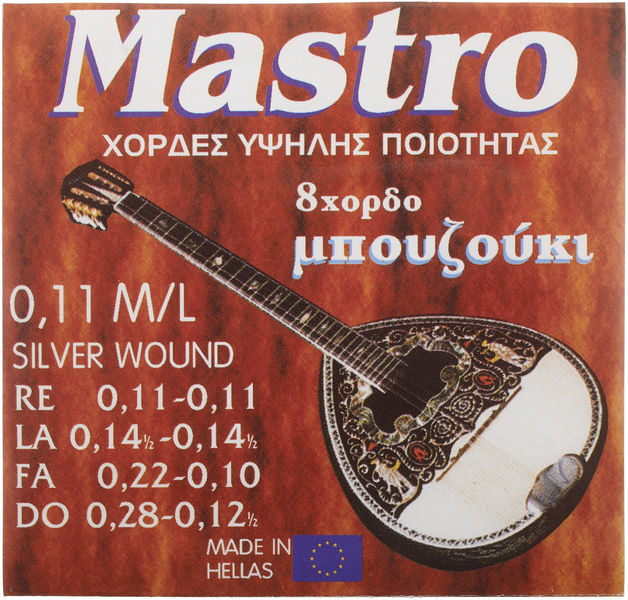 Mastro Bouzouki 8 Strings 011 SP