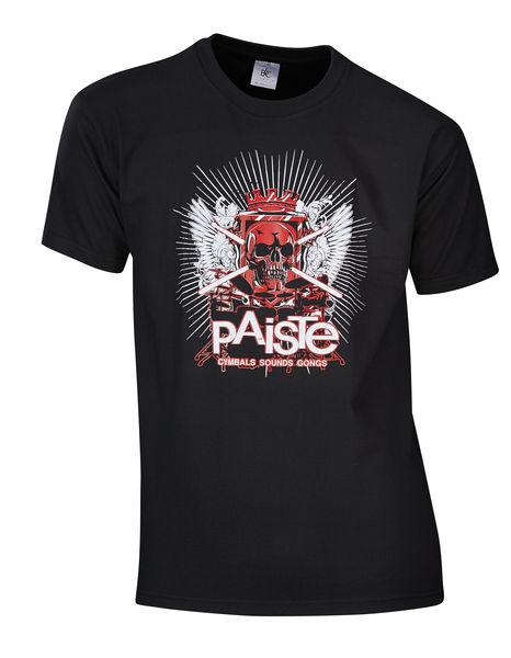 Paiste T-Shirt Skull XL